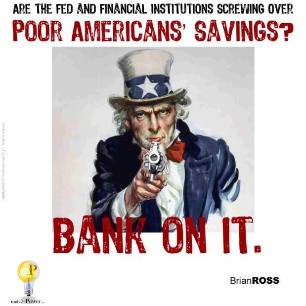 Poor Americans Savings
